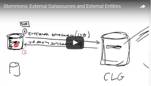 External Datasources and External Entitiess