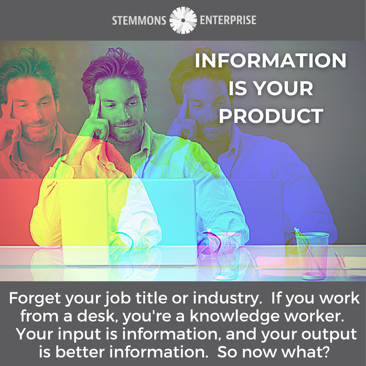 Information is Your Product