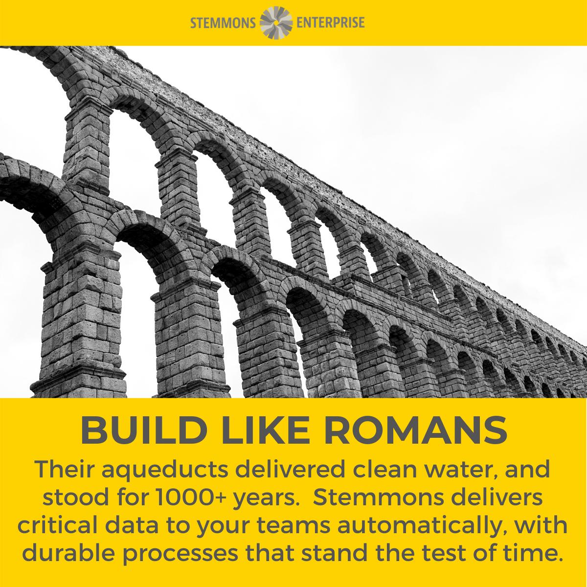 Build Like Romans