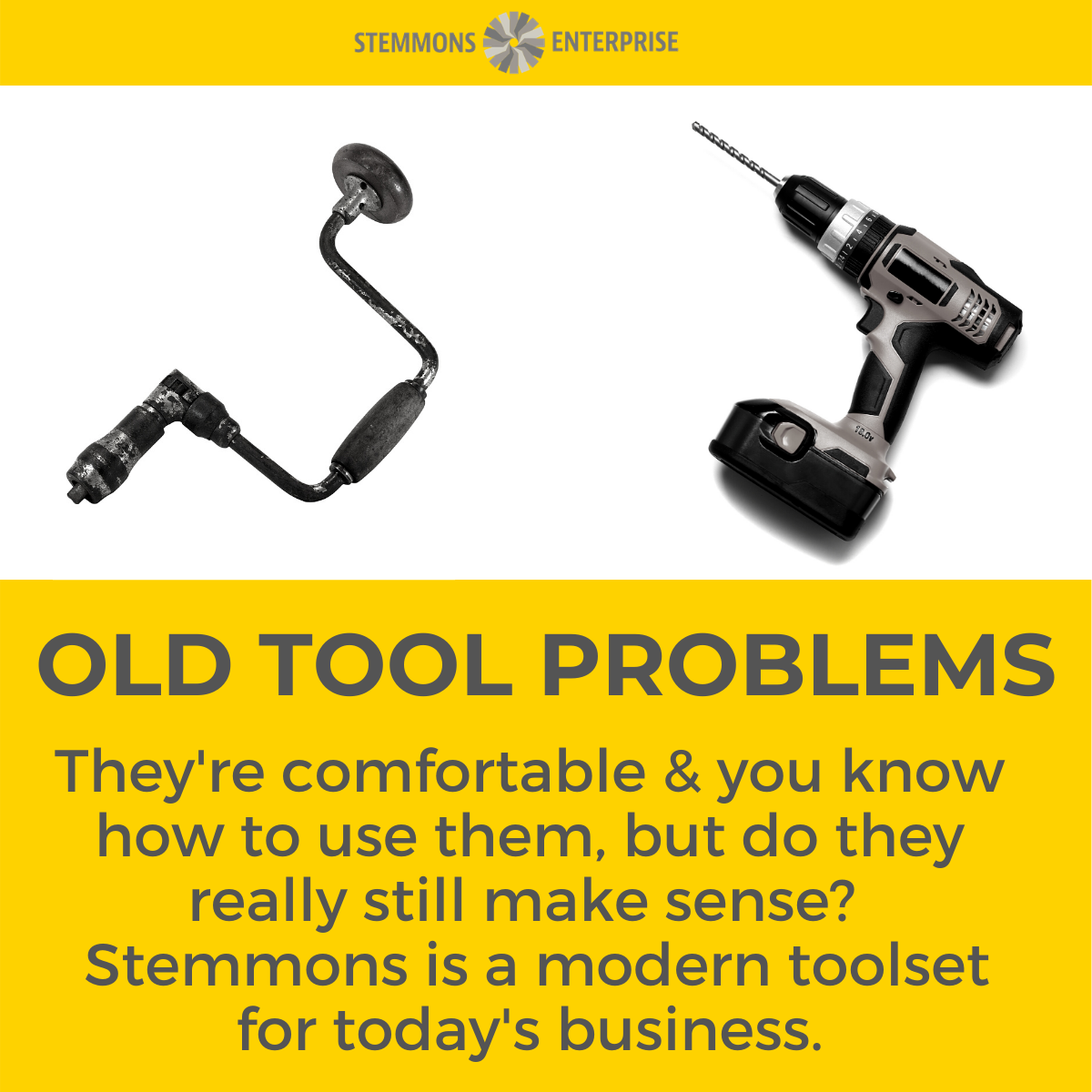 Old Tool Problems