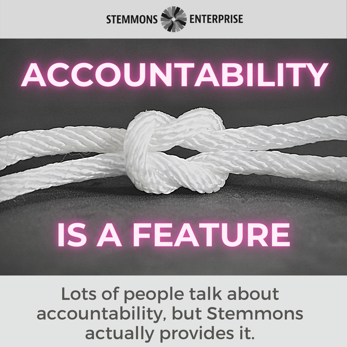 Accountability is a Feature